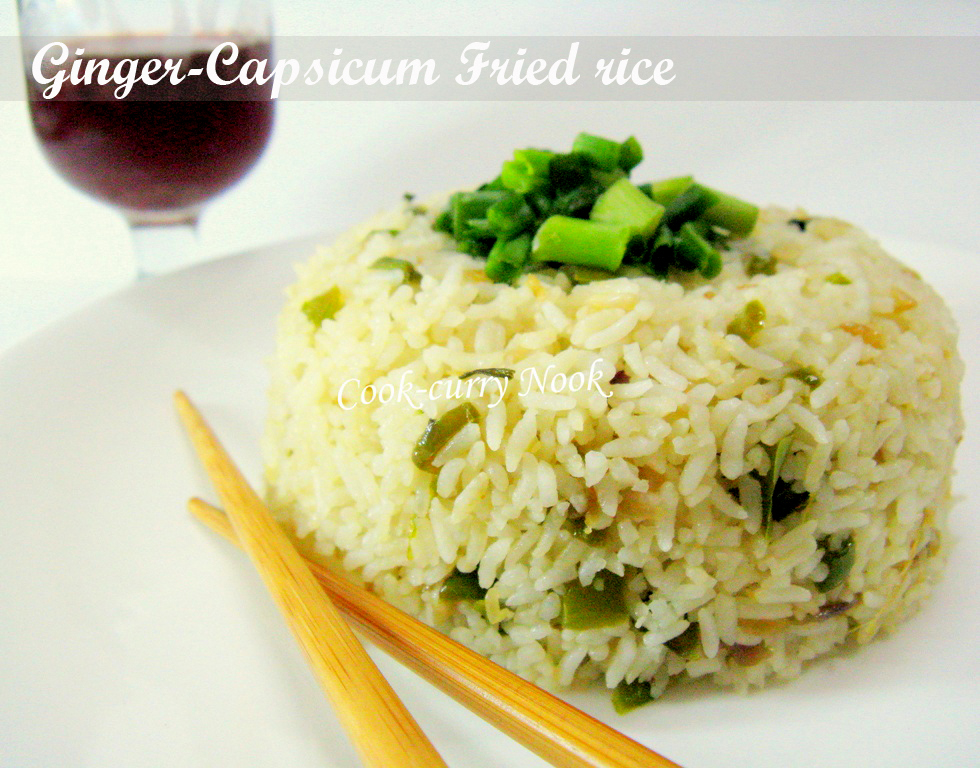 Ginger-Capsicum Fried Rice |
